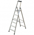 Facal Stufenstehleiter QUADRA S300 Aluminium-small