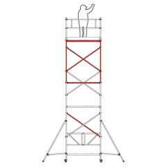 Altrex Klappgerüst RS Tower 34 Aluminium schmal 0,75x1,65m Modul D