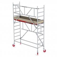 Altrex Fahrgerüst RS Tower 41-S Aluminium mit Safe-Quick und Holz-Plattform 4,20m AH 0,75x1,85m