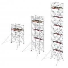 Altrex Fahrgerüst RS Tower 41-S Aluminium mit Safe-Quick und Holz-Plattform schmal 0,75m