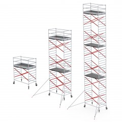 Altrex Fahrgerüst RS Tower 52 Aluminium mit 1,35m breitem Rahmen