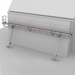Altrex Modulare Dreiecksbühne mit Handwinde 3-5/4-6m