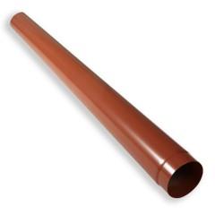 Alu-Schneefangbalken Ø140x2mm mit Steckverbindung, 2,0m lang, rot