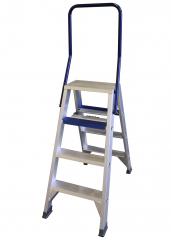 ASC Stufenstehleiter DT-4 doppelseitig 4 Stufen