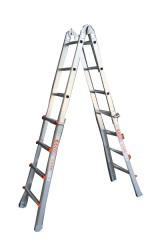 ASC Teleskopleiter WAKÜ 4x4 Sprossen