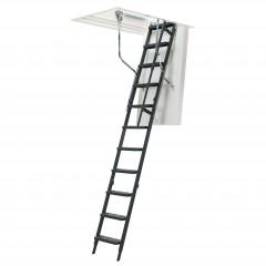 Dolle Bodentreppe clickFIX® comfort 3-teilig 244-264cm Raumhöhe mit U-Wert 0,49 Standardmaße
