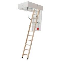 Dolle Bodentreppe clickFIX® thermo 3-teilig bis 274cm Raumhöhe mit U-Wert 0,38 Standardmaße