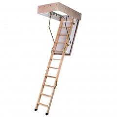 Dolle Bodentreppe F90 3-teilig bis 285cm Raumhöhe mit U-Wert 0,64 Standardmaße