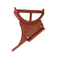 Laufroststütze für Blechdach / Stehfalzdach 15-55°, rot