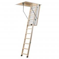 Dolle Bodentreppe extra 3-teilig 260-285cm Raumhöhe mit U-Wert 0,9 Standardmaße