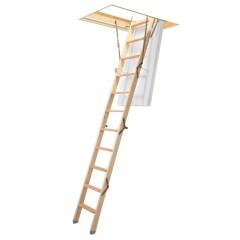 Dolle Bodentreppe mini 4-teilig bis 270cm Raumhöhe mit U-Wert 0,64 Standardmaße
