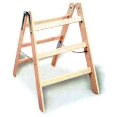 Euroline Holz Handwerkerbock extra breit 2x3 Sprossen