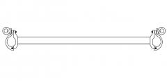 Euroline Basisrohr 2,85m