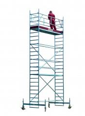 Euroline Gerüst 9513 mit Fahrbalken verschiebbar 5,50m AH