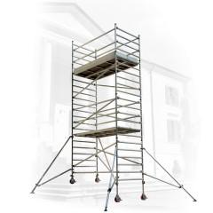 Facal Fahrgerüst CAPO-2, Treppengängig mit faltbarem Bordbrett 97x210cm