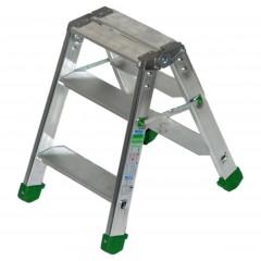 Facal Stufenstehleiter DUPLA S600 3 Stufen