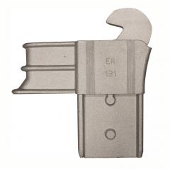 Facal Gelenk aus Gussaluminium Unterteil S600 Holmabmessung 25x80 Links