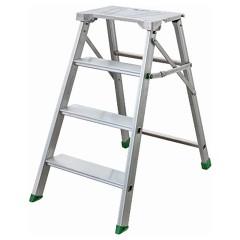 Facal Klapptritt Fermo Aluminium 4 Stufen