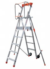 Facal Platea Plattformleiter Aluminium S600