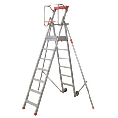 Facal Platea Podesttreppe Aluminium S300 7 Stufen