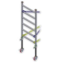 Facal Rahmenteil für Fahrgerüst CAPO mit Höhenverstellung und 2 Rollen
