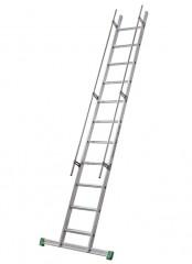 Facal S15/14 Regaleinhängeleiter ohne Traverse Aluminium S600 11 Stufen