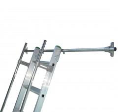 Facal Schienenhalter aus Aluminium für Regalleiter S15