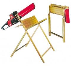 Facal klappbarer Holzsägebock mit Motorsägenständer Taglialegna aus verzinktem Stahl p300