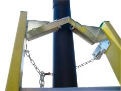 Facal Werkzeug für die Stütze der Leiter am Pfahl