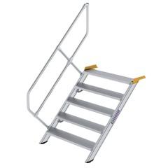 Günzburger Treppe 45°  inkl. einen Handlauf, 1000mm Stufenbreite, 5 Stufen