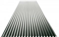 Günzburger Stufenbelag Aluminium stark geriffelt 600mm Stufenbreite, 200mm Stufentiefe