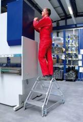 Günzburger Aluminium Arbeitspodest 2x2 Stufen