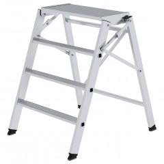 Günzburger Aluminium Arbeitspodest klappbar 4 Stufen