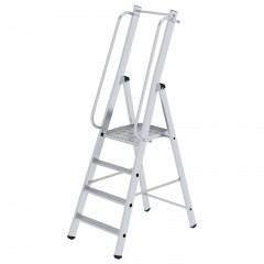 Günzburger ML Bauleiter Aluminium-Stufenstehleiter 4 Stufen