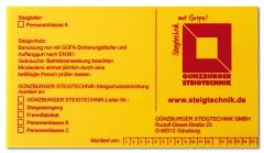 Günzburger Kennzeichnungsschild