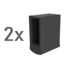 Günzburger Außenschuh für Traverse 73x25mm 2 Stück