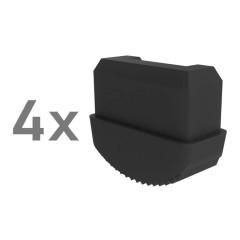Günzburger Innenschuh für Podestleiter 59x26mm 4 Stück