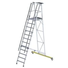 Günzburger Podestleiter klappbar 12 Stufen