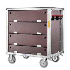 Günzburger Rettungstechnik Rollcontainer Atemschutzgeräte und Ersatzflaschen