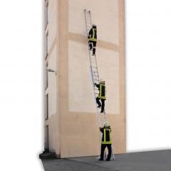 Günzburger Rettungstechnik Seilzugleiter 2-teilig aus Aluminium nach ÖNorm F 4047