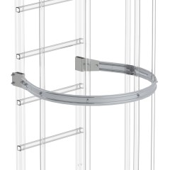 Günzburger Rückenschutzbügel ø 700mm Aluminium eloxiert