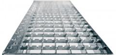 Günzburger Stufenbelag Stahl Gitterrost 1000mm Stufenbreite, Mehrpreis