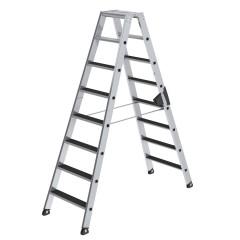 Günzburger Stehleiter beidseitig begehbar mit clip-step 2x8 Stufen