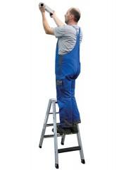 Günzburger Stehleiter beidseitig begehbar mit clip-step R13  250kg