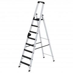 Günzburger Stehleiter mit clip-step R13 250kg, 8 Stufen