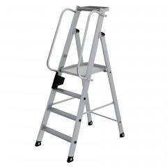 Günzburger Aluminium-Stehleiter 4 Stufen