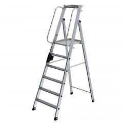 Günzburger Aluminium-Stehleiter 6 Stufen