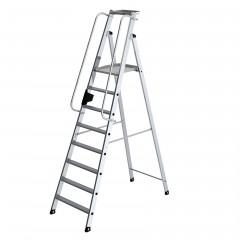 Günzburger Aluminium-Stehleiter 8 Stufen
