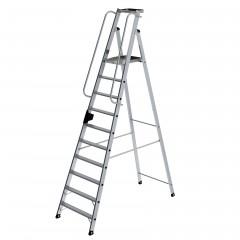 Günzburger Aluminium-Stehleiter 10 Stufen
