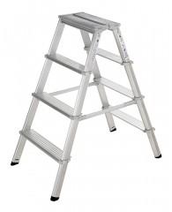 Günzburger Stufenstehleiter ML 2x7 Stufen